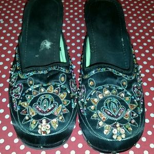 Shoes - Beaded Clogs size 9.5